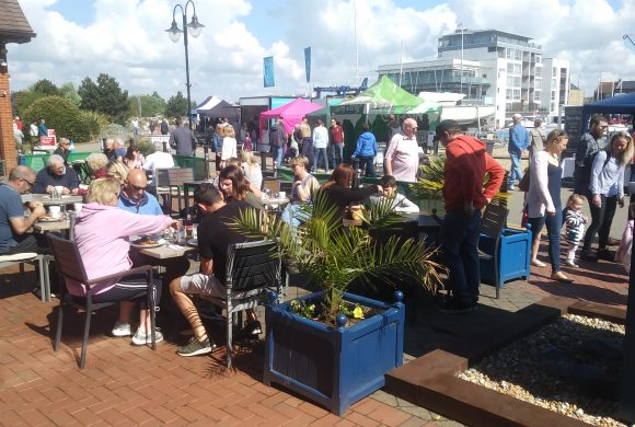 A Great Buzz At The Waterfront Pop Up Food Market