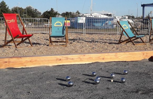 A Petanque Court Opens At The Waterfront